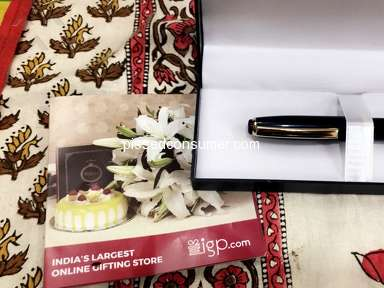 Indian Gifts Portal - Ordered customized pen for my husband