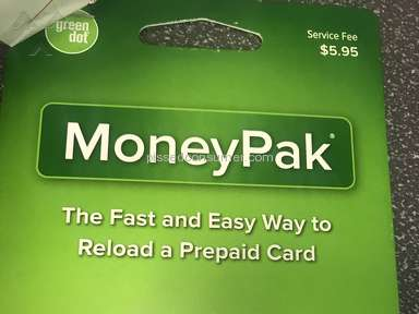 Green Dot Moneypak - Money pak