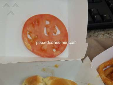 Jack In The Box - 2nd bad experience