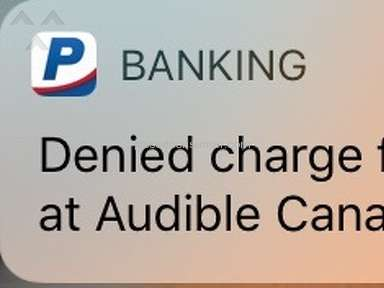 Audible - Another Account of Sketchy Charging