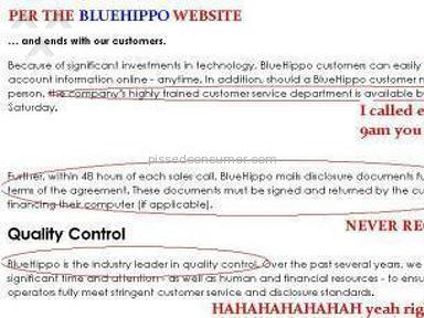 Blue Hippo Appliances and Electronics review 1050