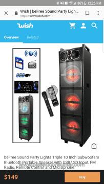 Befree Sound Sound System