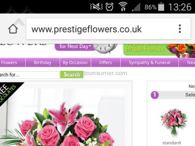 Prestige Flowers Flowers review 65227