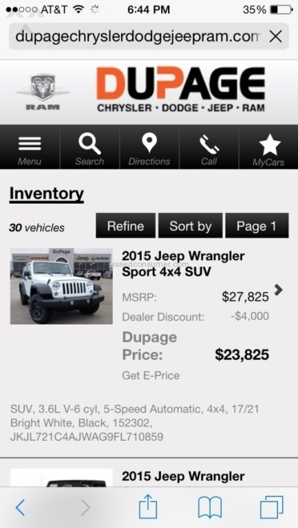 Dupage Chrysler Dodge Jeep Ram   2015 Jeep Wrangler Sport Review From  Cedarburg, Wisconsin