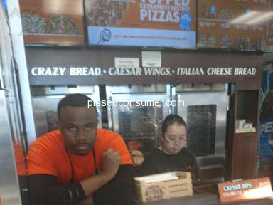 Little Caesars - Embarrassed and miss treated