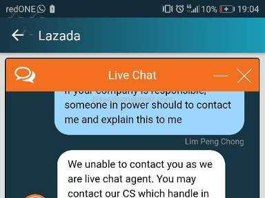 Lazada Malaysia Shipping Service review 266010