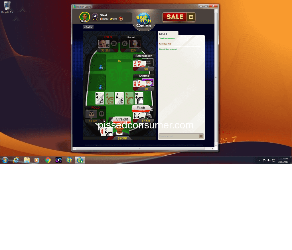 Automated roulette system