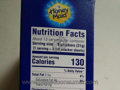 Honey Maid Graham Crackers review 400070