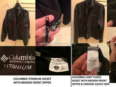 Columbia Sportswear Jacket review 53311