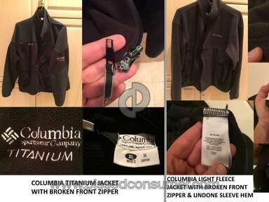 Columbia Sportswear - BAD CUSTOMER SERVICE FOR LIFETIME WARRANTY ON JACKET REPAIR