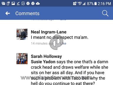 Taco Bell - Sarah Holloway