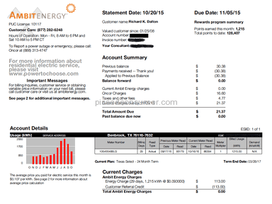 Ambit Energy Customer Care review 135127