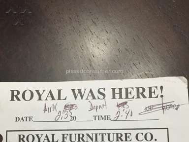 Royal Furniture Delivery Service review 58199