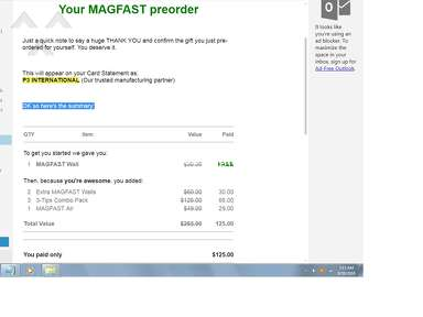 MAGFAST Shipping Service review 322118