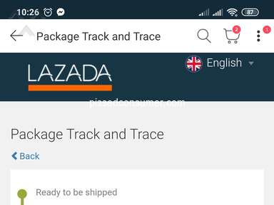 Lazada Philippines Shipping Service review 652585