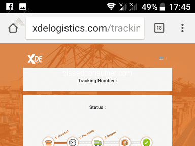 Lazada Philippines Xde Logistics Delivery Service review 305392