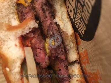 Mcdonalds - Quarter pound raw meat
