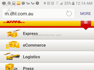 DHL Express Delivery Service review 200166