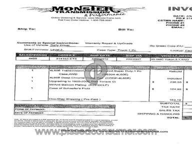 Monster Transmission Equipment review 26861