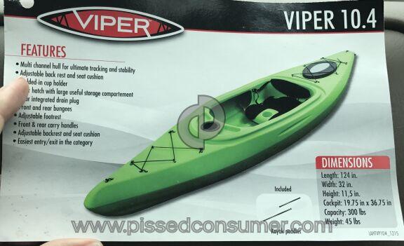 Viper Kayaks Kayak