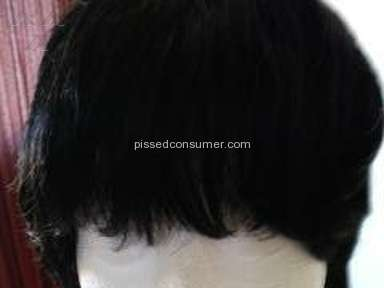 Wigsbuy -     MOP LOOKING WIG, THIN HAIR, NO REAL STYLE
