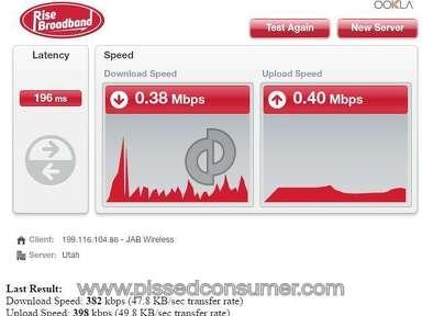 Rise Broadband Internet Service review 186322