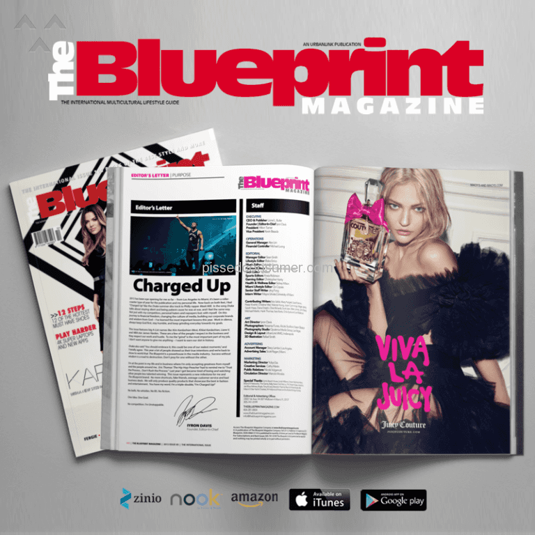 2 the blueprint magazine reviews and complaints pissed consumer the blueprint magazine new focus on great customer service malvernweather Image collections
