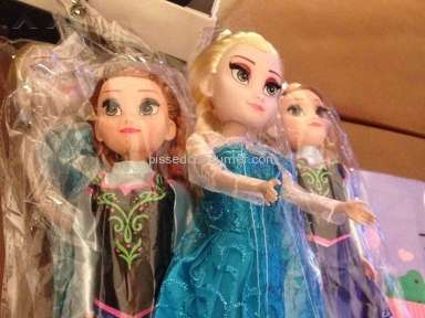 Ncrowd - Frozen Singing Dolls are knock offs!
