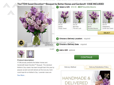 Ftd Sweet Devotion Bouquet review 132337
