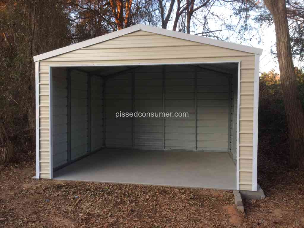 garage depot carports review srage home sale s reviews versatube