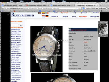 Replicawatches138 Luxury / Jewelry review 13789