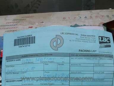 Lbc Express Door-to-door Delivery Service review 158520