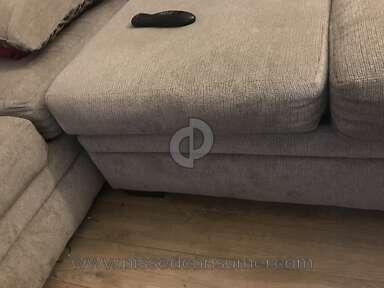 The Room Place Platinum Fabric Sofa review 184028