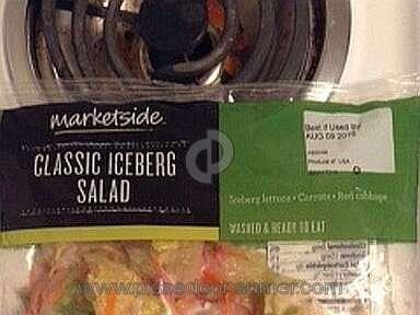 Walmart Marketside Classic Iceberg Salad review 152808