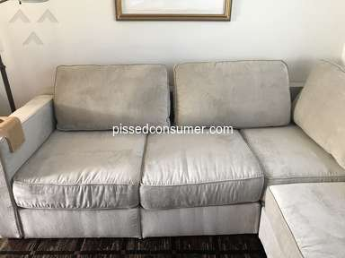 Lovesac - Terrible furniture and no response from company