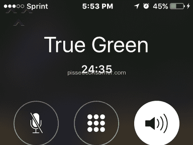 Trugreen Customer Care review 160138