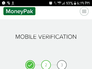 Green Dot Moneypak - Can't secure a login account