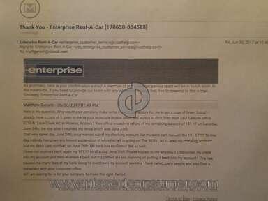 Enterprise Rent A Car Car Rental review 216644