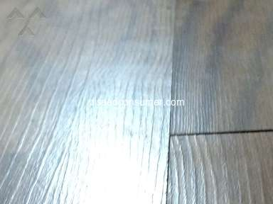Shaw Floors - Not even a year and floors look like *** !!!