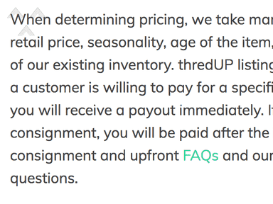 ThredUP - Worst place to resell