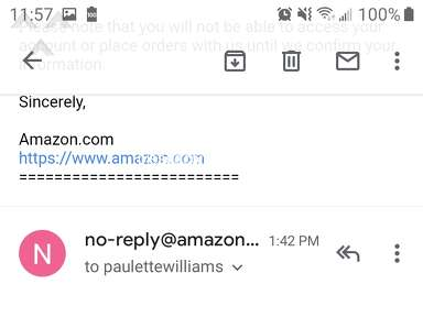 Amazon Customer Care review 514809