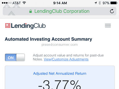 Lending Club Investment Service review 151182