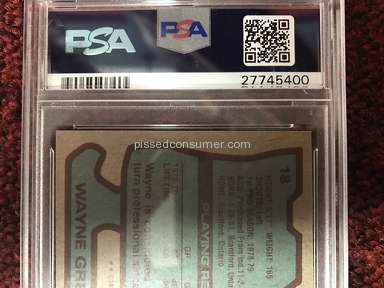 PSA DNA Sport Card Authentication Service review 226466