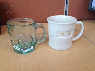 Starbucks - Coffee Mugs Poor Quality No Return Policy
