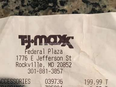 Tj Maxx Manager review 127333