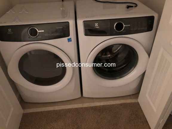 Electrolux Washer And Dryer Combination