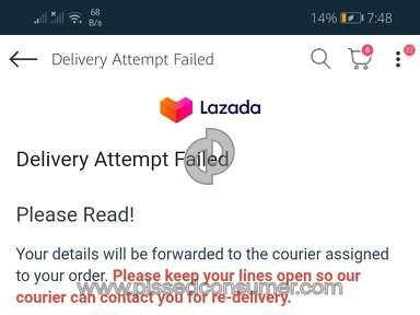 Lazada Philippines Ninja Van Delivery Service review 642177