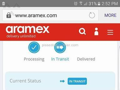 Aramex - Not delivered my courier