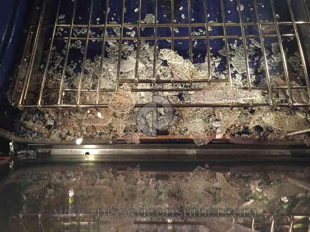 Kitchenaid Kems308sss Glass Door Exploded Jan 05 2015 Pissed Consumer
