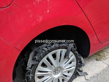 Continental Tires - 2 TIRES EXPLODED IN 6 WEEKS